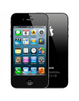 Refurbished Apple Iphone 4S Black-8GB